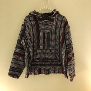 Sweaters - Multicolored Drug Rug Sweater